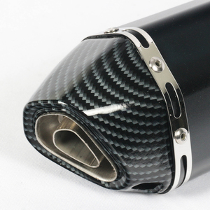 Image 4 - Universal 38~51mm Motorcycle Exhaust Muffler with DB Killer Stainless Steel For Scooter Dirt Bike Muffler Pipe YZF600 R6