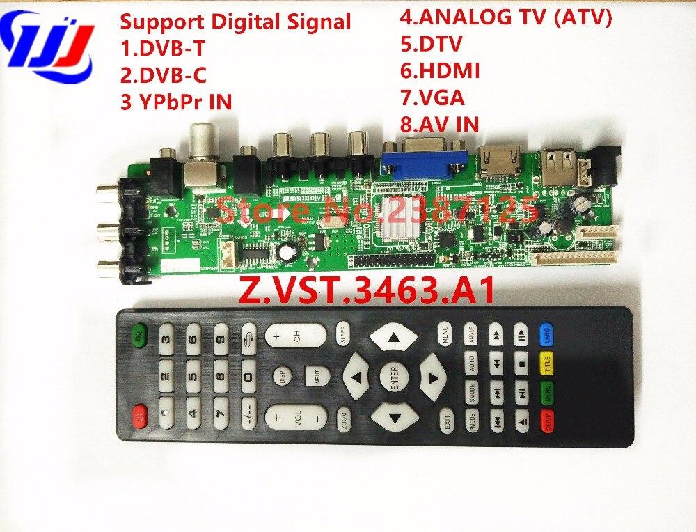 DS.D3663LUA.A8.2.PA Support Digital Signal DVB-C DVB-T/T2 Better than V56 Support Russian Language LCD