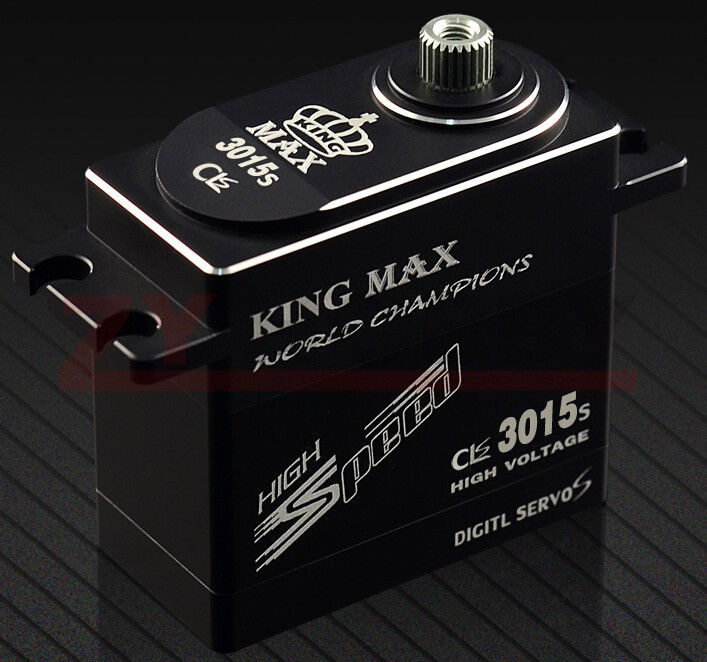 Kingmax CLS3015S 80g 25kg.cm Torque Metal Gears Digital Coreless Standard Servo Waterproof For RC Model Flight-model 1pcs jx pdi 6221mg 20kg large torque digital coreless servo for rc car crawler rc boat helicopter rc model