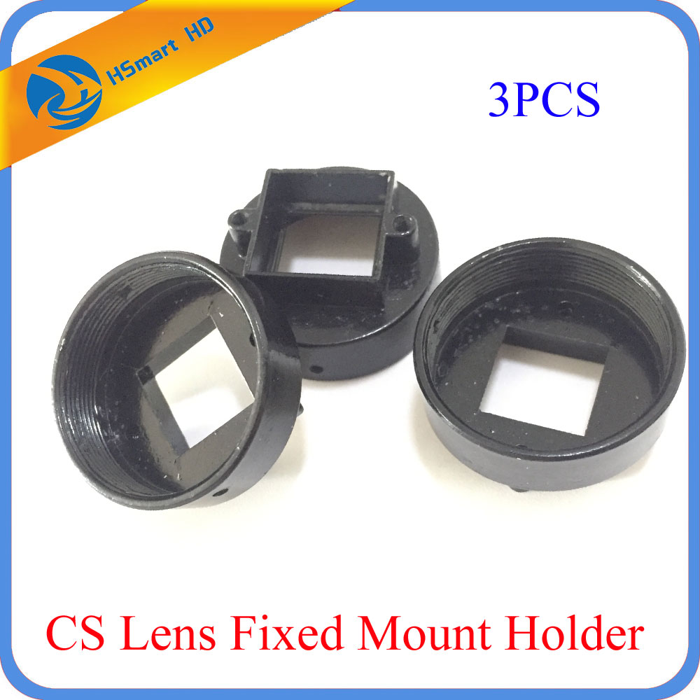CS Mount Lens Holder With 22mm Hole Spacing Camera Support For Screws(CS M 22 AHD TVI CVI 1080P IR CAMRAS DVR KITS