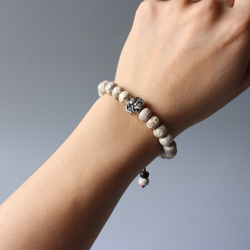 Tibetan Bodhi Seed Mala Bracelet 4