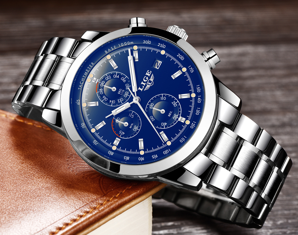 HTB1Ot8leAfb uJkHFNRq6A3vpXaa - LIGE Mens Watches Top Brand Luxury Business Quartz Watch stainless steel Strap Casual Waterproof Sport Watch Relogio Masculino