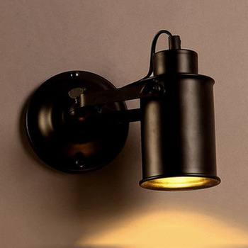 LED Retro Night Lamp Industrial wall Light sconce Vintage wall Lights for Restaurant bedside Bar Cafe Home Lighting E27 american wall lamp industrial vintage loft style wall light for bedside wall sconce glass iron art edison e27 lighting fixtures