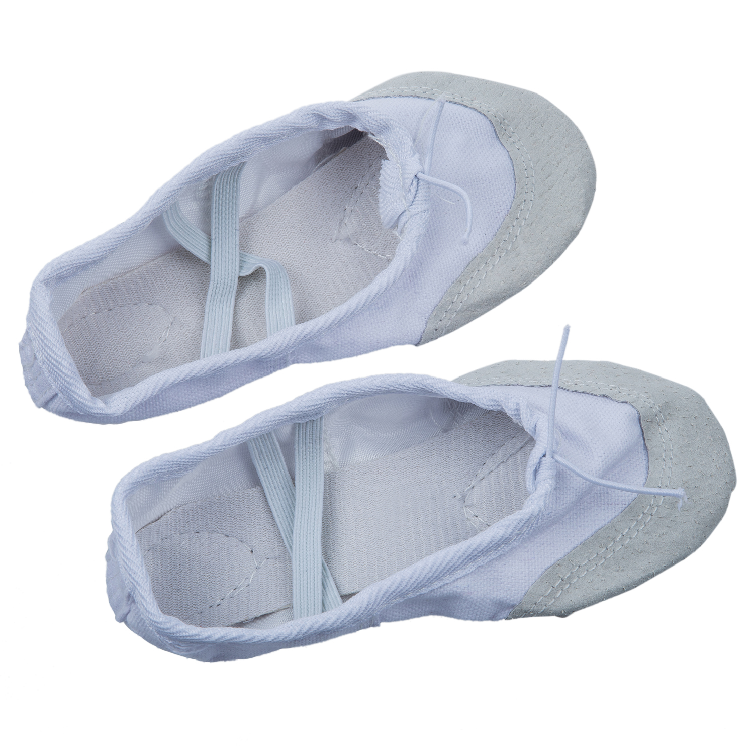 5 PCS Canvas Ballet  Slippers for Kids UK Size 10 (6 2/3 Inches)