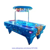 Amusement Park Indoor Playground Device Coin Operated Arcade Game Machine Space Air Hockey Table
