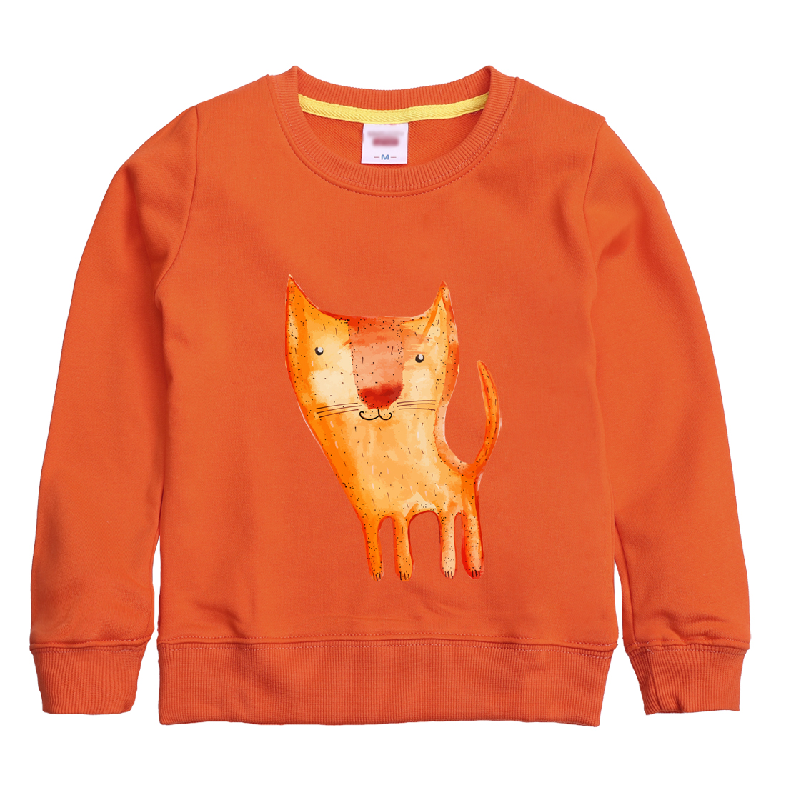 2018 New fashion FOX pattern printed winter autumn sweatshirt design for children hoodie clothing with 8 colors for kid choose