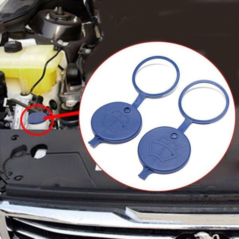 1pcs Plastic Car Windshield Wiper Washer Fluid Reservoir Tank Bottle Cap Cover
