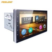 FEELDO 10.2inch HD Screen Android 4.4.2 Quad Core Car Media Player With GPS Navi Radio For Universal 2DIN ISO #AM1221