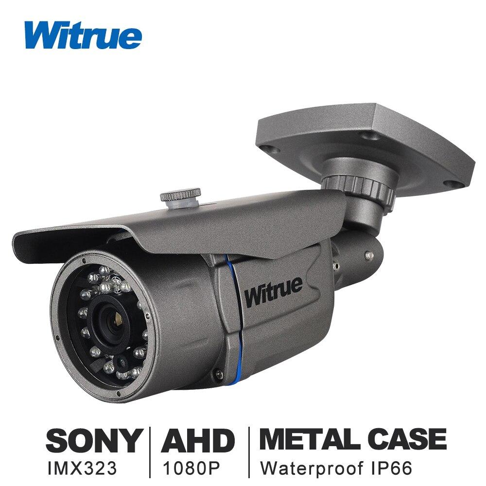Witrue Mini cámara de vigilancia Sony IMX323 AHD Camera1080P 20 m visión nocturna cámara CCTV IR Cámara al aire libre impermeable de seguridad