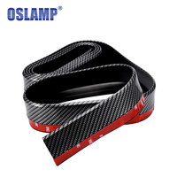Oslamp 52mm Wide 2 5M Car Styling Moulding Imitation Carbon Fiber Surface Car Front Rear Bumper