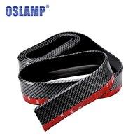 Oslamp 52mm Wide 2 5M Car Styling Moulding Imitation Carbon Fiber Surface Car Front Rear Bumper