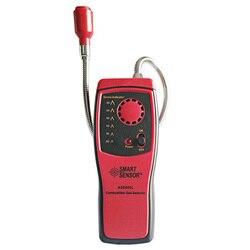 Analizator gazów spalinowych palny detektor wycieku gazu palnego lokalizacja określ miernik testowy światła LED czujnik alarmu dźwiękowego