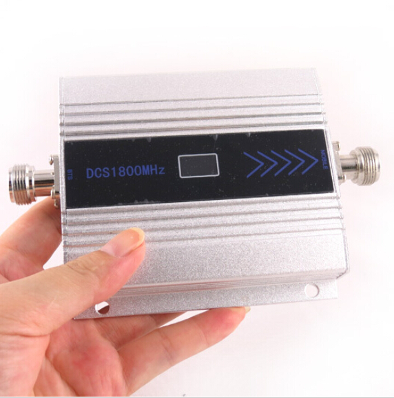 LCD Display GSM Repeater 1800Mhz Booster Cell Signal Amplifier Receivers Booster DCS 1800 Repeater Mobile Phone Signal Amplifi