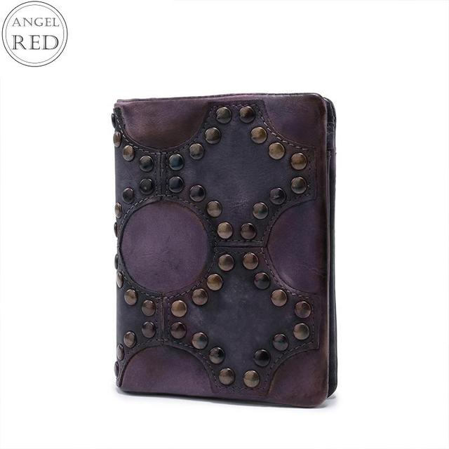 Women Purse Genuine Cow Leather Vintage Patchwork Hasp Mini Wallets Short Petit  Porte Monnaie Femme Wallet 4578c7e3106