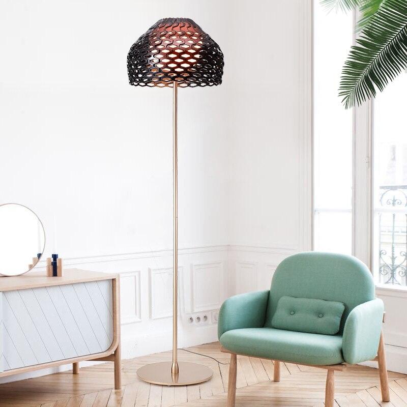 FLOS Designer nid d'abeille créatif postmoderne personnalité mode nordique Simple mode salon lampadaire