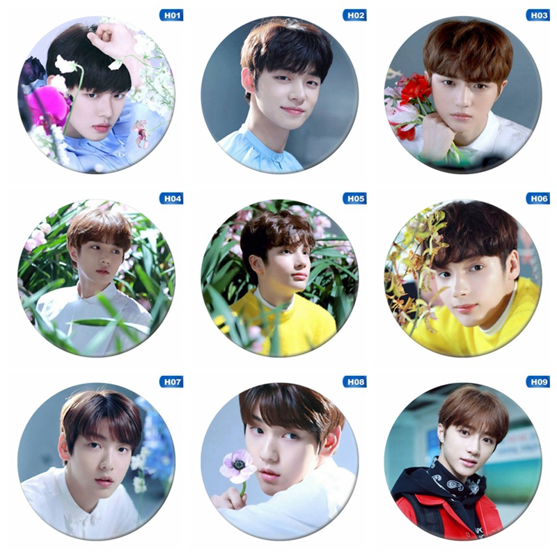 Kpop TXT The Dream Chapter: Star Fashion Cute Chest Pins for Backpack Hat Clothes Soobin Taehyun Badge Brooch Button