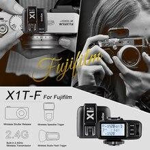 В наличии Godox X1T-F TTL HSS 1/8000 s 2.4 г Беспроводной x Системы Мощность Управление вспышка триггера Только передатчик для Fuji