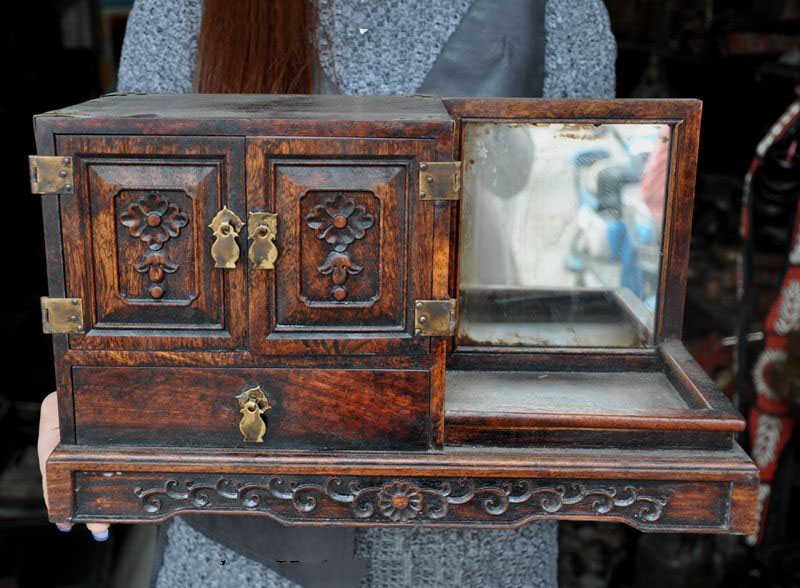Jewelry, Collect, Huanghuali, Chinese, Wood, Classical