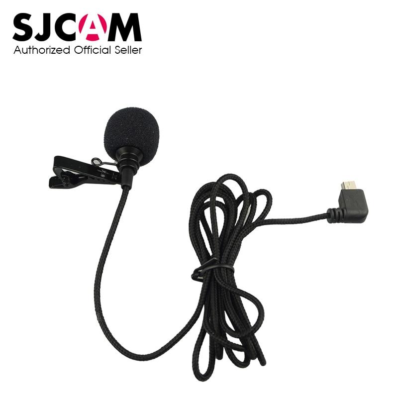 Original SJCAM Accessories External Microphone With Clip Type A/B For SJCAM SJ6 Legend/SJ7 Star/SJ360 Sports Action Camera