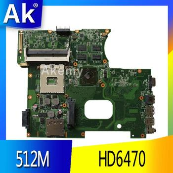 AK K42JZ Laptop motherboard DDR3 For ASUS A40J K42JB K42JY X42J K42JE Laptop Mainboa 100% tested intact REV: 4.1 HD6470 512M
