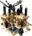 440 unids bloque de construcción minecraft finales kit endermen y ender dragón ladrillos niños 21107