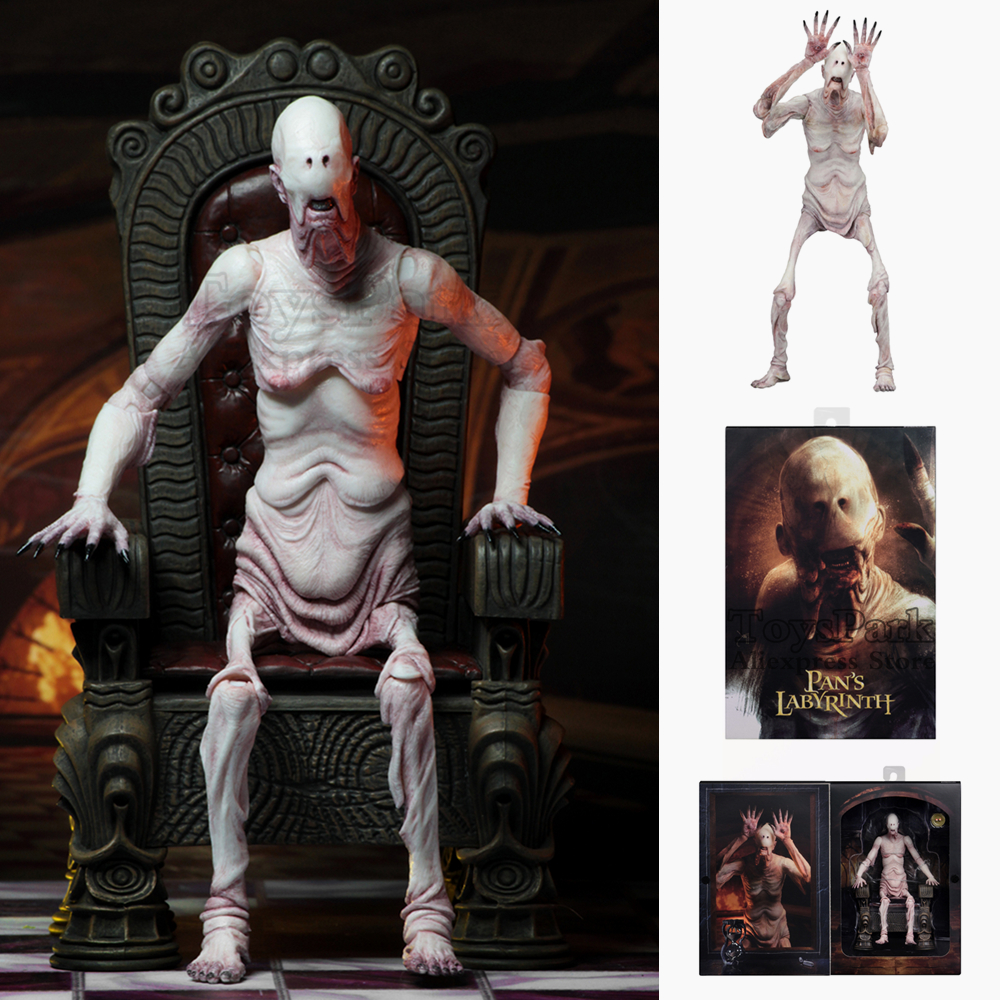 NECA Guillermo del Toro Signature Collection Pans Labyrinth  Pale Man 7 Scale Action Figure  El Laberinto del Fauno Doll ToysNECA Guillermo del Toro Signature Collection Pans Labyrinth  Pale Man 7 Scale Action Figure  El Laberinto del Fauno Doll Toys