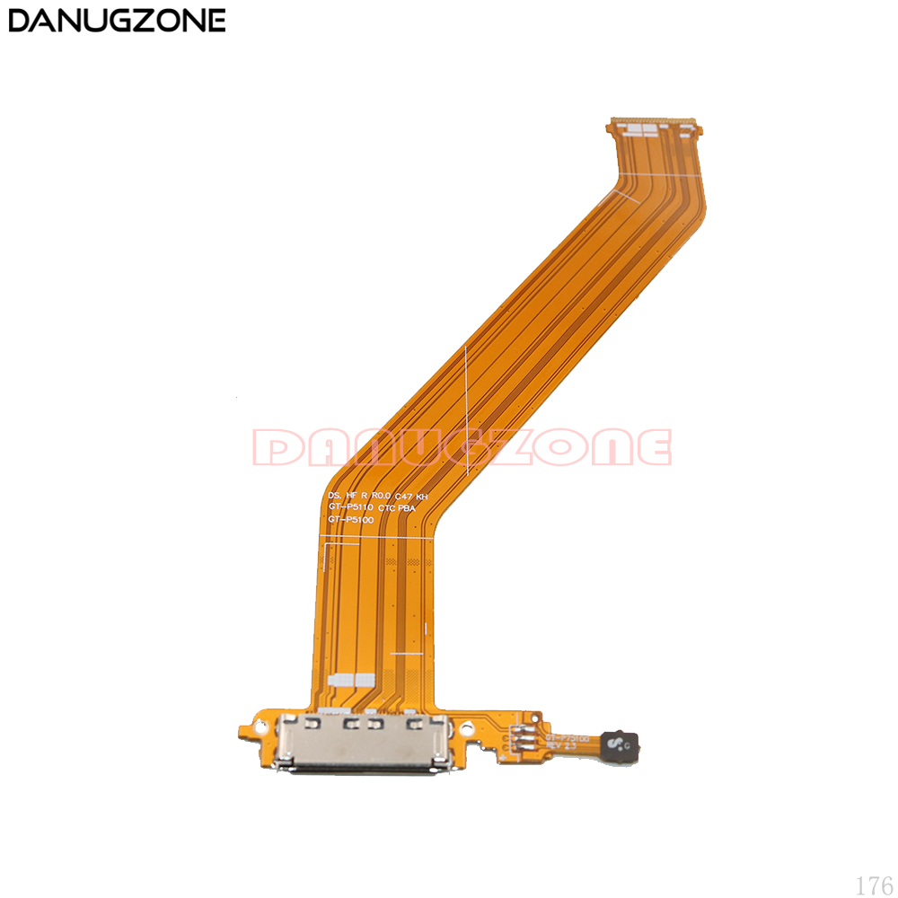 USB Charging Port Connector Plug Charge Dock Jack Socket Flex Cable For Samsung Galaxy Tab 2 10.1 P5100 P5110 GT-P5100 GT-P5110