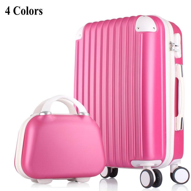 Girls fashion luggage sets amp women travel suitcase universal