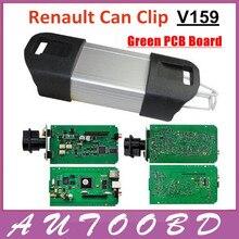 Свободный Корабль OBD2 OBDII Авто Профессиональный Диагностический Интерфейс Renault Может Закрепить V159 Программное Обеспечение Multi-Function CAN Clip Для Renault