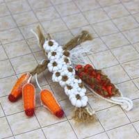 G05-X353 enfants bébé cadeau Jouet 1:12 Dollhouse mini Meubles Miniature rement Maïs chili ail pendentif