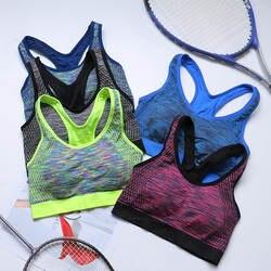 Новинка 2019 года для девочек спортивные нижнее бельё для женщин бег противоударный фитнес жилет дышащий бюстгальтер