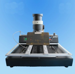 Image 5 - PUHUI T870A BGA IRDA Infrared Electric Rework Station Soldering Welder 35   50 mm CSP LGA QFP PLCC BGA Ball Rework 110V or 220V