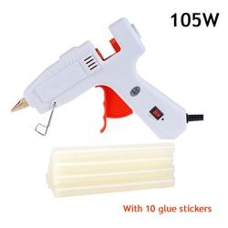 100W Hot melt Kleber Gun Heizung Handwerk Reparatur Werkzeug Mit 11mm x 100mm Hot Melt Kleber Sticks thermo Kleber gun 110V 220V