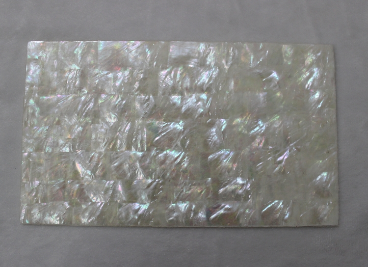 14x24cm 0 8mm Thicker White Mother Of Pearl Sheets Mop
