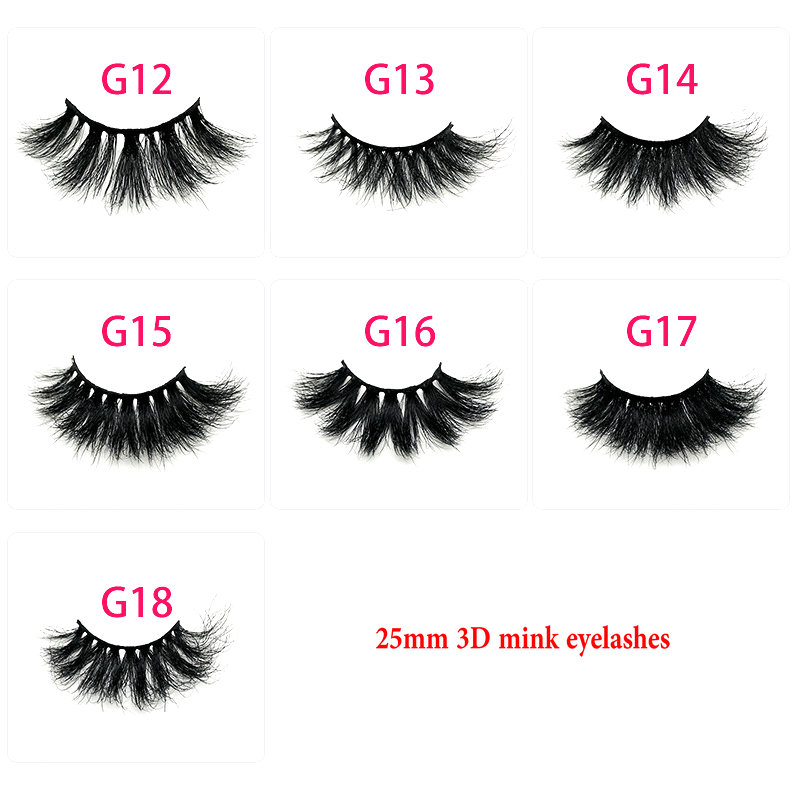 490c0c8b77d Limited Offer 25mm Lashes 3D Mink 100% Cruelty Free Lashes Handmade  Reusable Natural Lashes Popular False Eyelashes Makeup Eye Lashes only $3.54