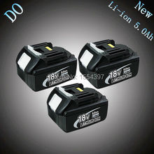 3PCS 5000mAh New Rechargeable Lithium Ion Replacement Power Tool Battery for Makita 18V BL1830 LXT400 194205_220x220 popular cell battery holder buy cheap cell battery holder lots  at edmiracle.co