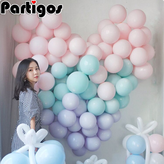 NEW 10pcs 10'' candy color latex balloons Romantic Macaron color balloon INS style wedding birthday party decor kids toys