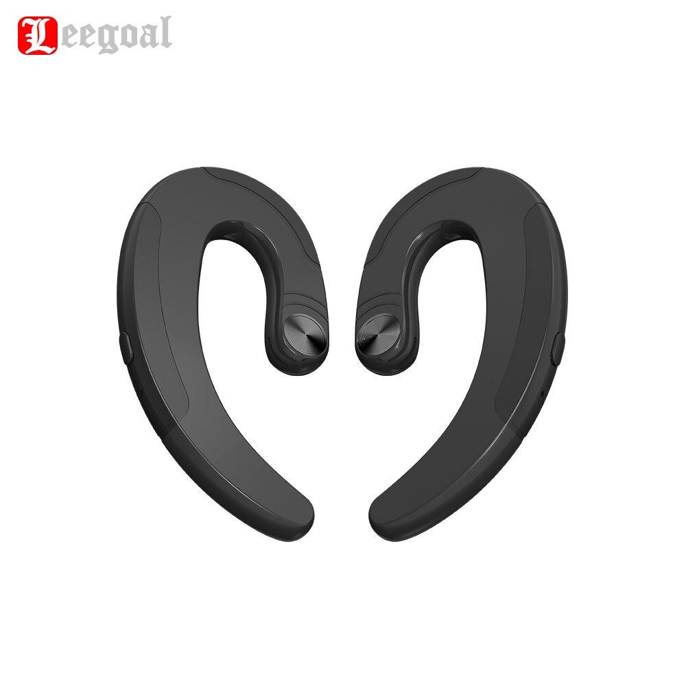 Leegoal HBQ-Q25 Drahtlose Bluetooth Knochen Leitung Kopfhörer Doppel Kopfhörer Wasserdichte Ohrhörer Sport Headset