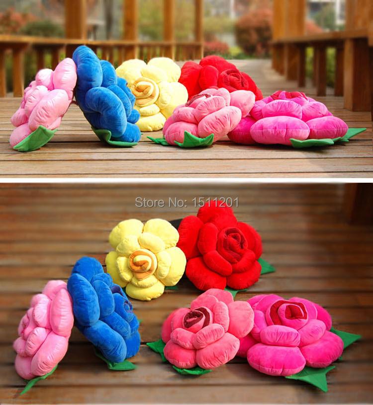 30cm shipping small rose pillow car cushion plush toys wholesale wedding celebration birthday gift to send