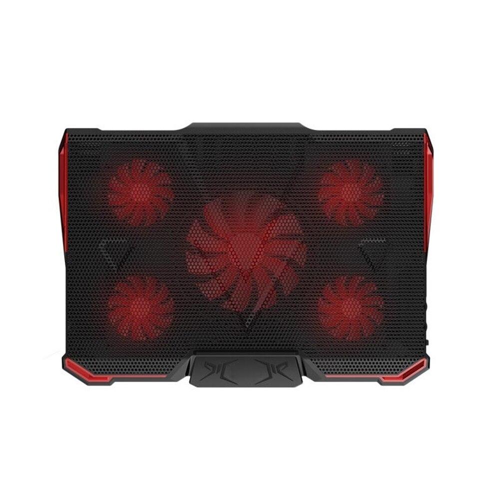 Laptop Cooler USB Adjustable Stand Notebook Holder Cooling Pad Fans Computer UV Base 5v