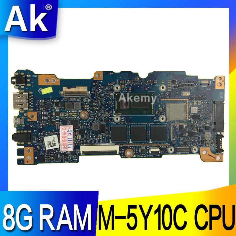 AK UX305FA ノートパソコンのマザーボード UX305FA UX305F UX305 テストオリジナルマザーボード 8 グラム RAM M 5Y10C CPU  グループ上の パソコン & オフィス からの マザーボード の中 1