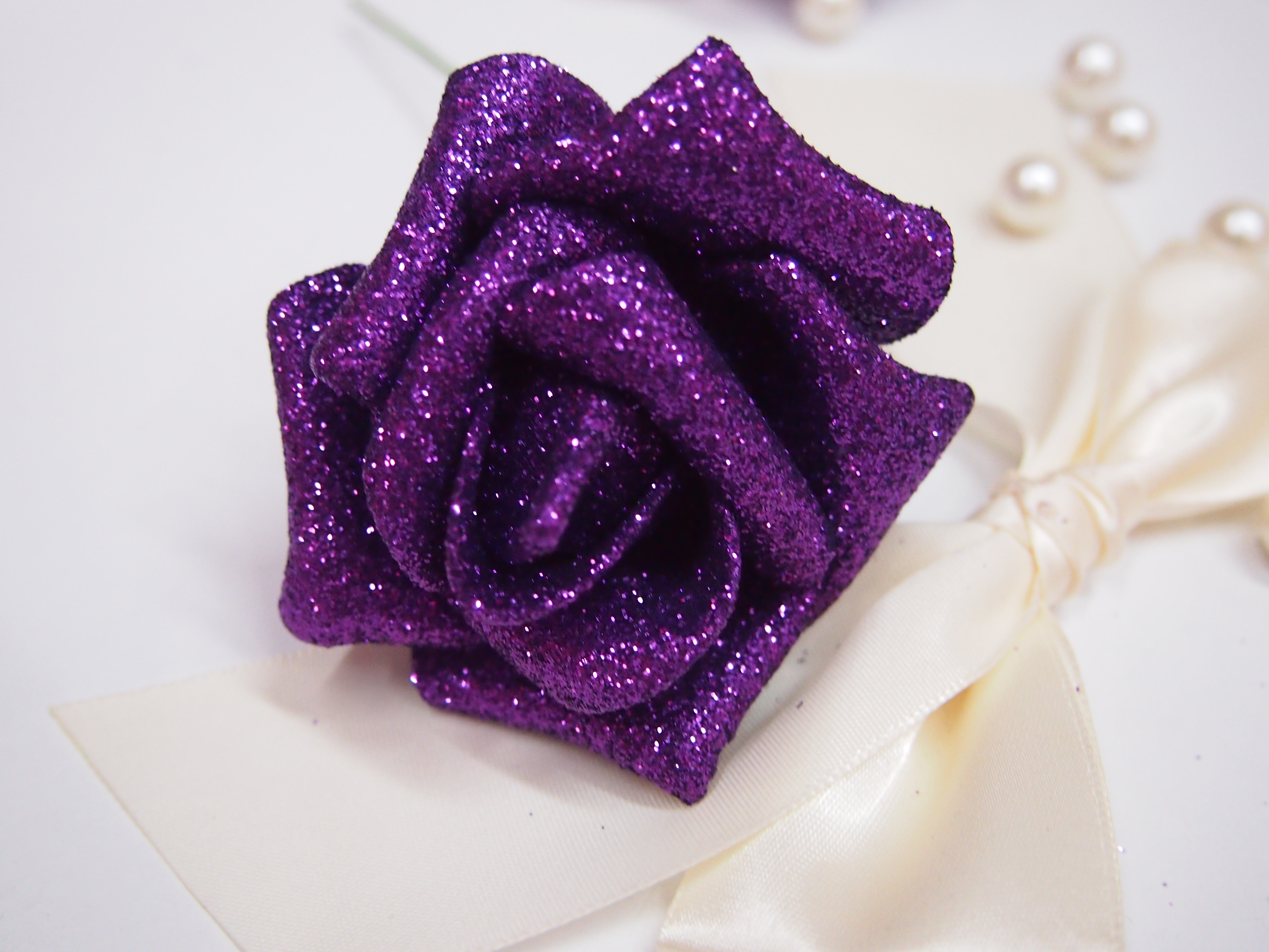 Wholesale Pe Gold Dust Roses With Limb Never Wither Away Classic