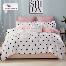 SlowDream Bed Linen Set Of Double Comforter And Bedding Bedspread Duvet Cover Linens Quilt Sheet