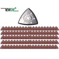 NEWONE Starlock trójkątne polski brzeszczoty do pił i papier ścierny zestawy fit Power narzędzia oscylacyjne dla polskich drewna metalu ceramiczne więcej w Akcesoria do elektronarzędzi od Narzędzia na