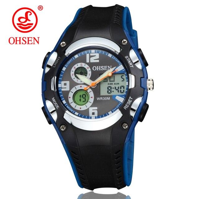 Ohsen Marke Digitale Sport Uhren Armbanduhr Kinder Jungen