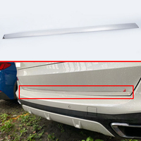 For BMW X5 G05 2019 2020 Stainless Steel Tail Gate Door Cover Trim Rear Trunk Molding Bezel Styling Sticker Garnish