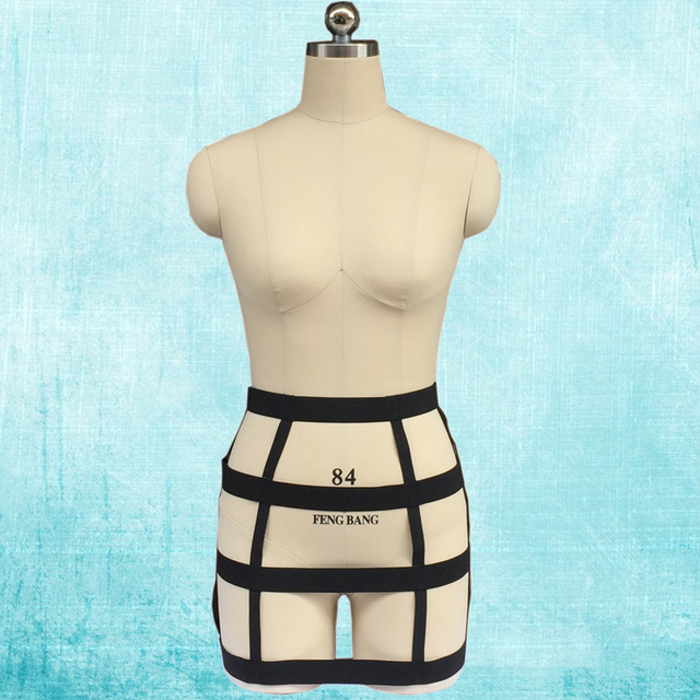 Sexy body harness bust skirt hip package dress mini dress polyester bondage belt night party underwear fetish lingerie N0054