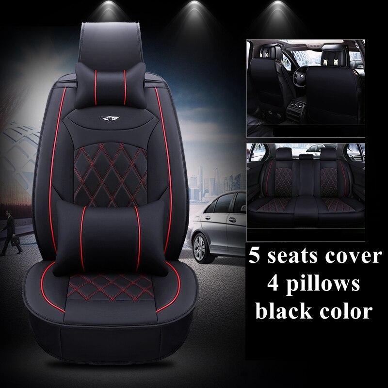Honda FR-V Rojo Impermeable Cubierta de asiento Delantero-Individual