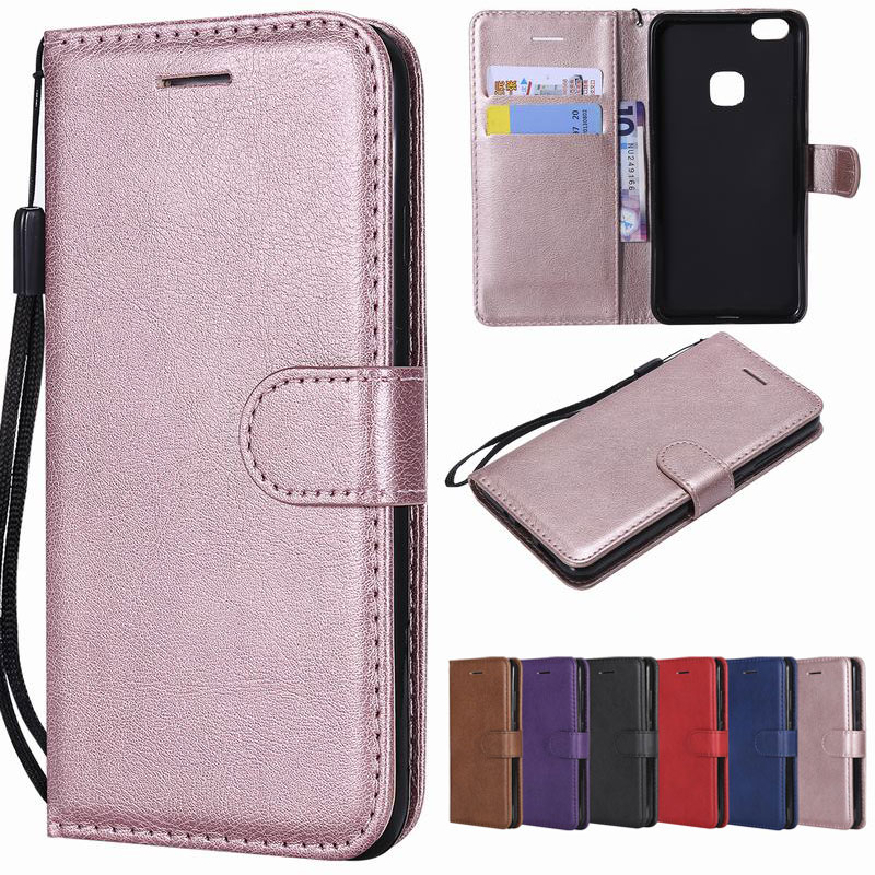 Leather Flip Case Cover For Huawei P8 Lite Retro Wallet Magnetic Cover Honor 8 Lite NOVA Coque For Huawei P9 P10 Lite 2017