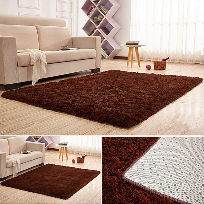 Soft Shaggy Carpet Home Warm Plush Floor Rug living room Mat bedroom decoration Large Area Carpets Child Crawling carpets in Carpet from Home Garden